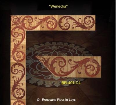 podłogi laminowane intarsje