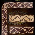 intarsje podłogowe bordiury