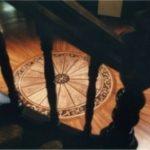 intarsja podłogowa rotunda