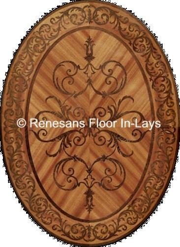 parkiety drewniane inlays