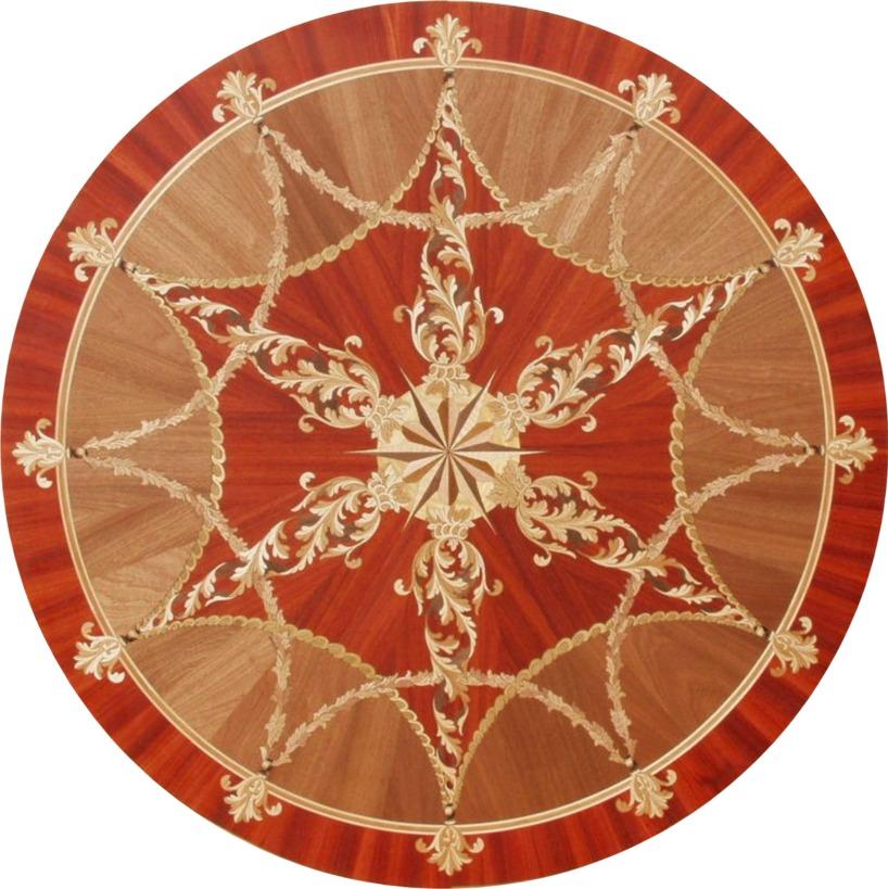 panele podłogowe intarsje