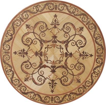 rozeta mozaika