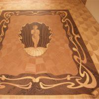 panele podłogowe intarsjowane